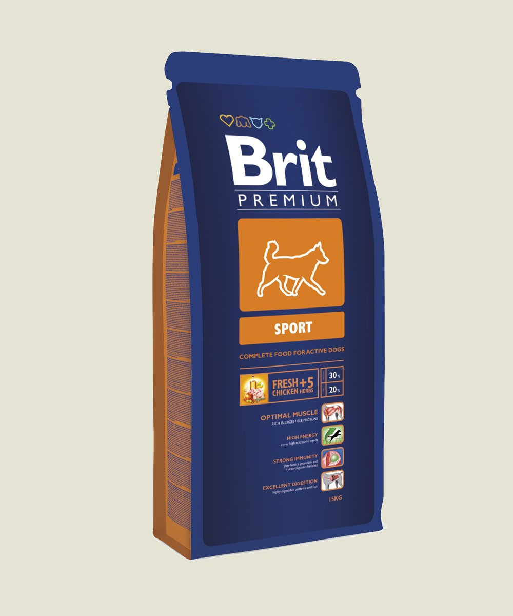Granule pro psy - Brit Dog Activity15kg