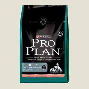 Granule pro štěňata - Purina Proplan Dog Puppy Sensitive (Losos&Rýže) 3 kg
