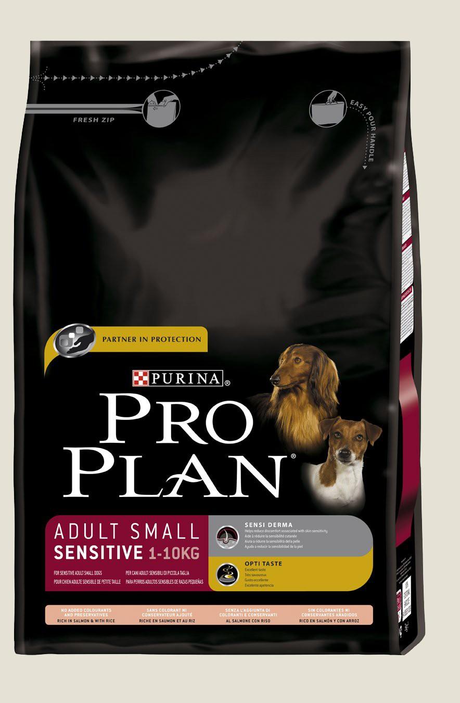 Granule pro psy malých plemen - Purina Proplan Dog Adult Small Sensitive Salmon&Rice 3kg