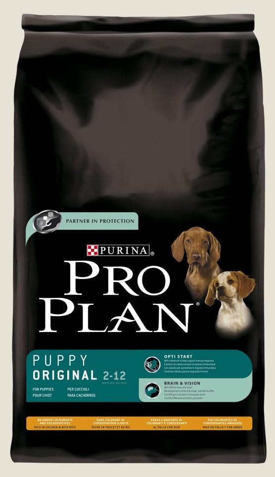 Granule pro štěňata - Purina Proplan Dog Puppy Original (Chick&Rice) 7,5kg