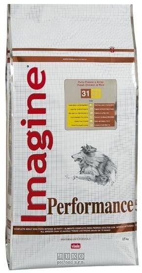 Granule pro psy Imagine PERFORMANCE 15 kg