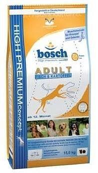 Granule pro psy - Bosch Dog Adult Fish Potato 15kg