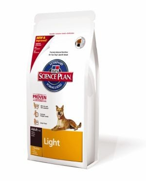 Granule pro psy - Hill's Canine Dry Adult Light 12kg